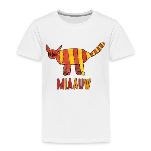 miaauw poesje - Kinderen Premium T-shirt