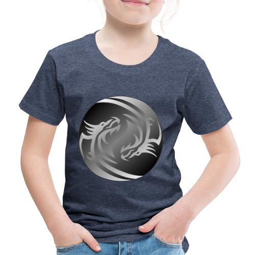 Yin Yang Dragon - Kids' Premium T-Shirt