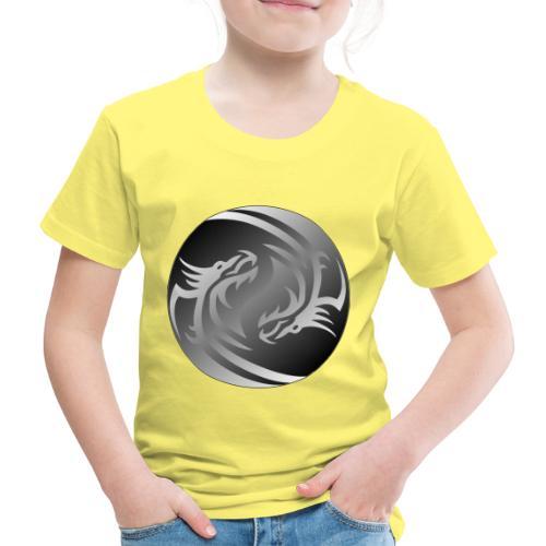 Yin Yang Dragon - Kids' Premium T-Shirt