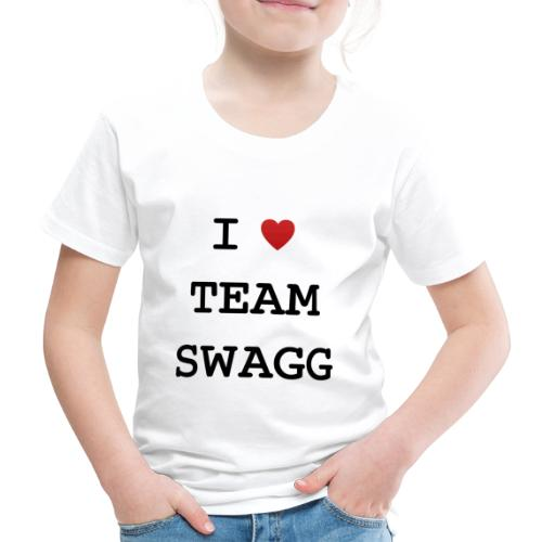 I LOVE TEAMSWAGG - T-shirt Premium Enfant