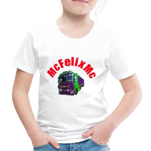 Truck DAF XF mit Namen - Kinder Premium T-Shirt
