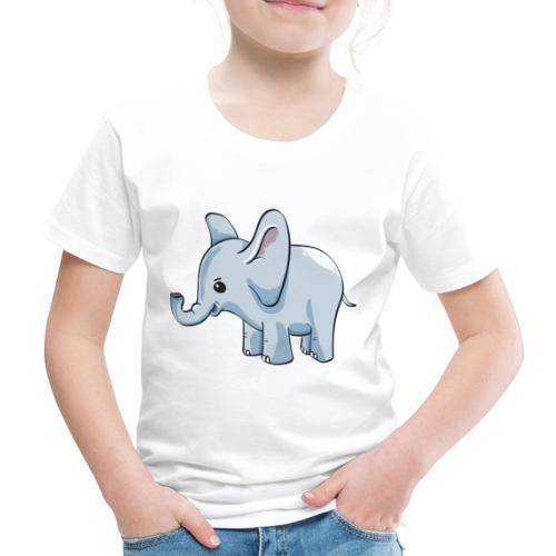 Kindershirt bedrucken günstig Elefant - Kinder Premium T-Shirt