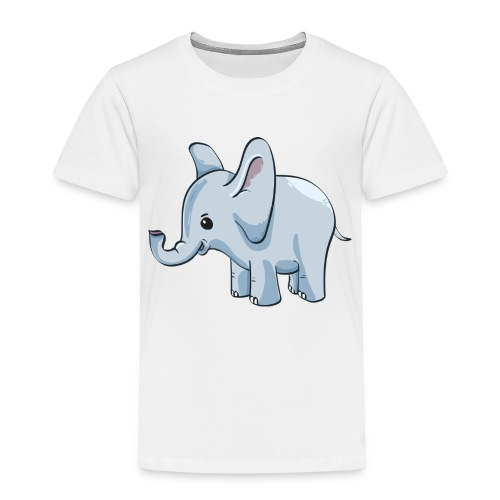 Kindershirt bedrucken günstig Elefant - Kinder Premium T-Shirt