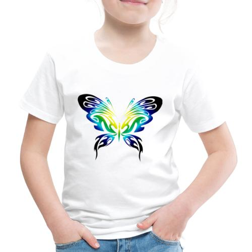 Motyl kolor - Koszulka dziecięca Premium