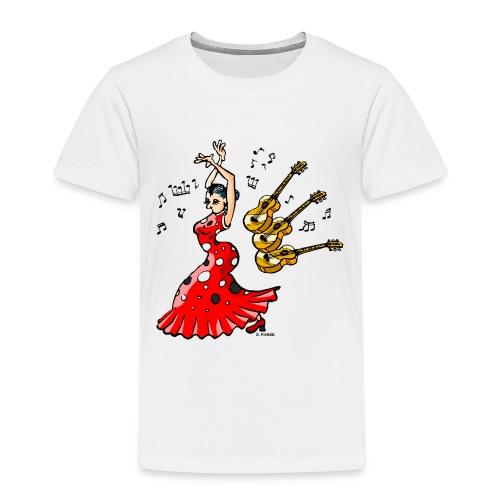 Spanische Tänzerin - Kinder Premium T-Shirt