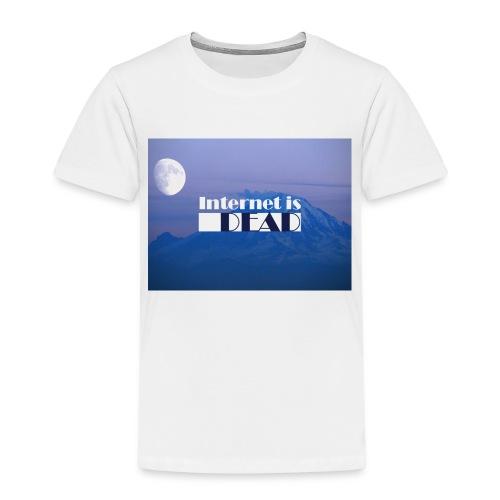 Internet is dead mountain - T-shirt Premium Enfant