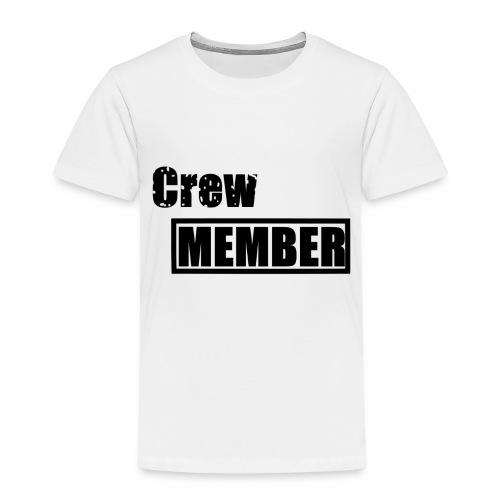 crew member - Kinder Premium T-Shirt