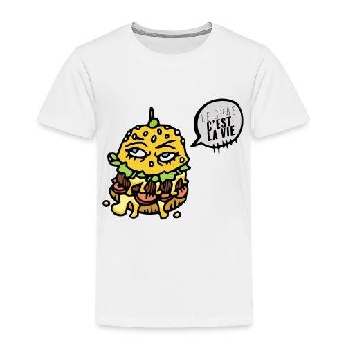 Vive le gras - T-shirt Premium Enfant