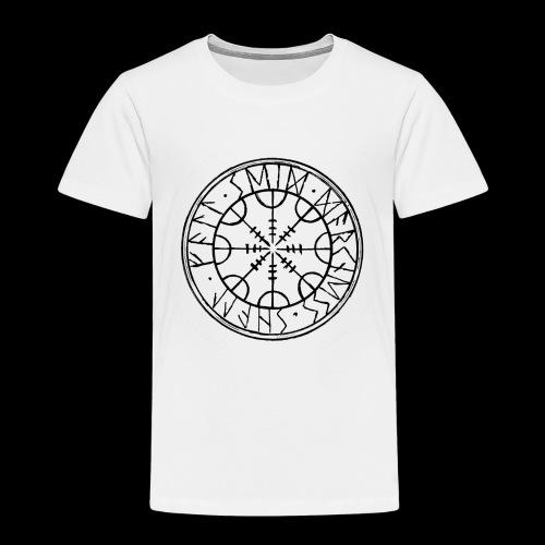 SEID-DARKNESS SHALL FALL- BLACK ON WHITE - Kids' Premium T-Shirt