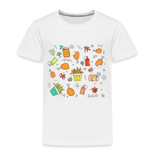 Du und dein Essen - Kinder Premium T-Shirt