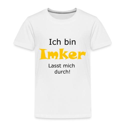 Ich bin Imker, lasst mich durch - Kinder Premium T-Shirt