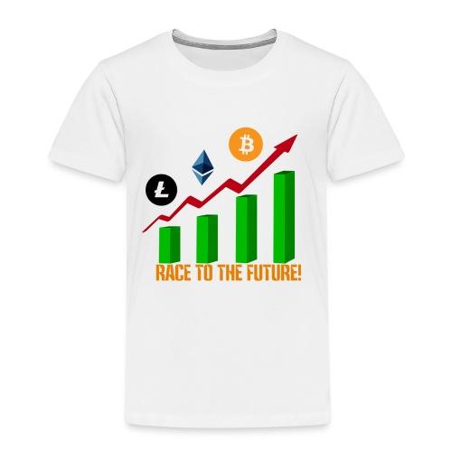 race to the future btc - Camiseta premium niño