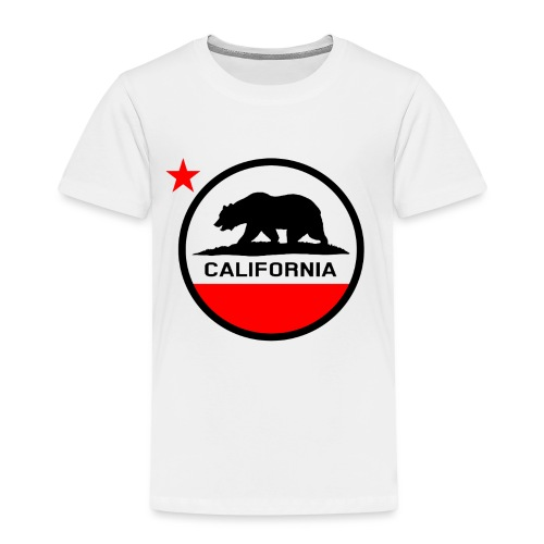California Circle Flag - Kids' Premium T-Shirt