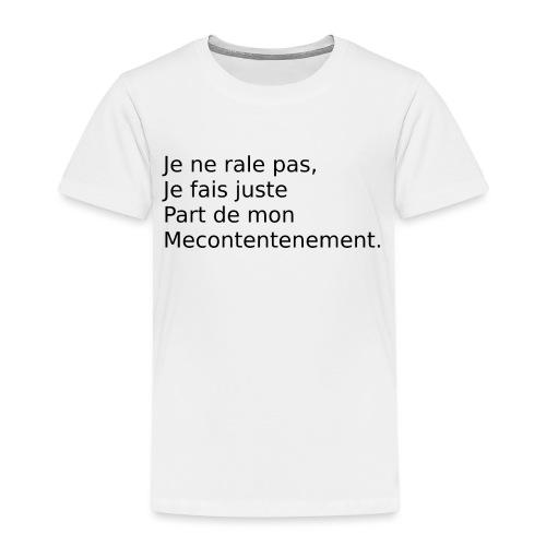 Mecontent - T-shirt Premium Enfant