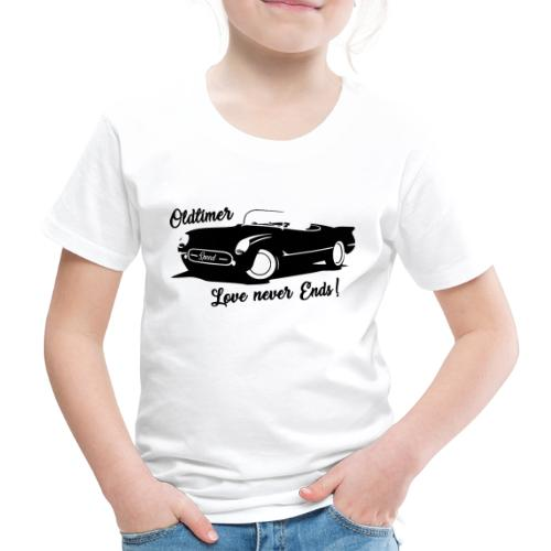 Oldtimer Love never Ends! schwarz - Kinder Premium T-Shirt