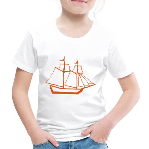 red baron ship - Kids' Premium T-Shirt