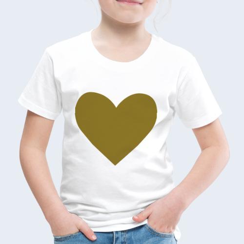 Heart - Kinderen Premium T-shirt