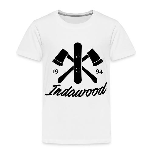 Indawood halux hans - Kinderen Premium T-shirt