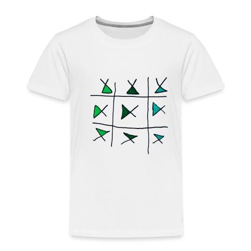 horizontaal verticaal - Kinderen Premium T-shirt
