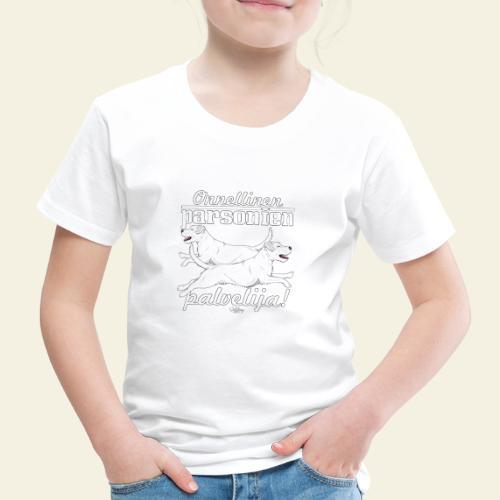 parsonienpalvelija3 - Lasten premium t-paita