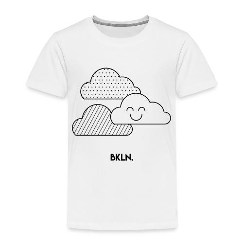 clouds - Kinderen Premium T-shirt
