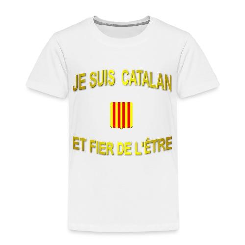 Dessous de verre à l'emblème du PAYS CATALAN - T-shirt Premium Enfant