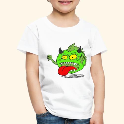 Monster Elkan - Børne premium T-shirt