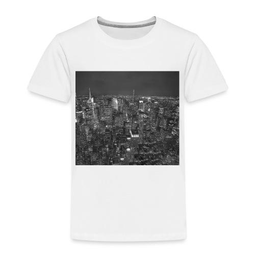 Manhattan at night - Børne premium T-shirt