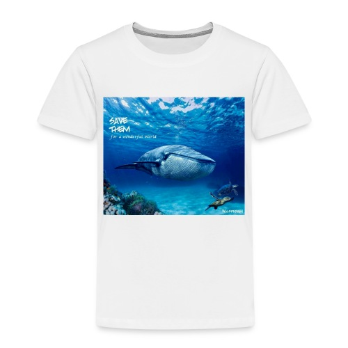 SAVE THEM fww sea - Camiseta premium niño