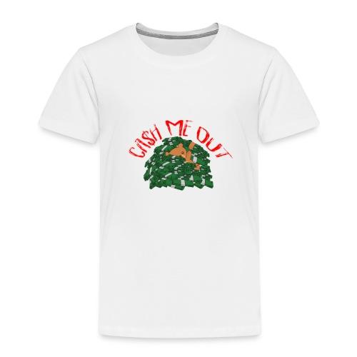 Cash Me Out Teddy - Kinderen Premium T-shirt