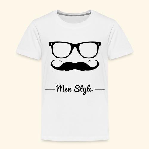 Men Style - Maglietta Premium per bambini