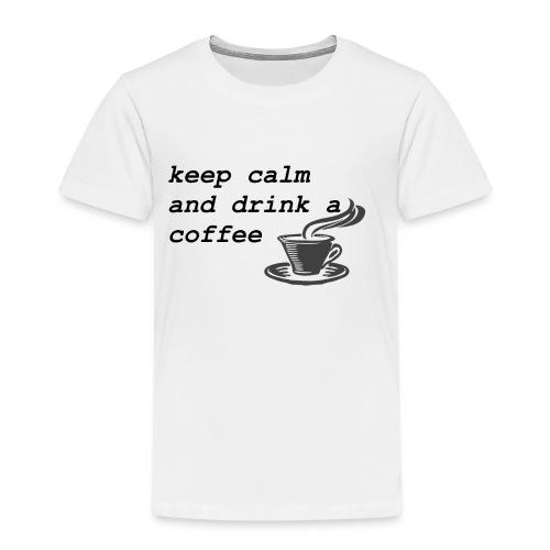 kaffee - Kinder Premium T-Shirt