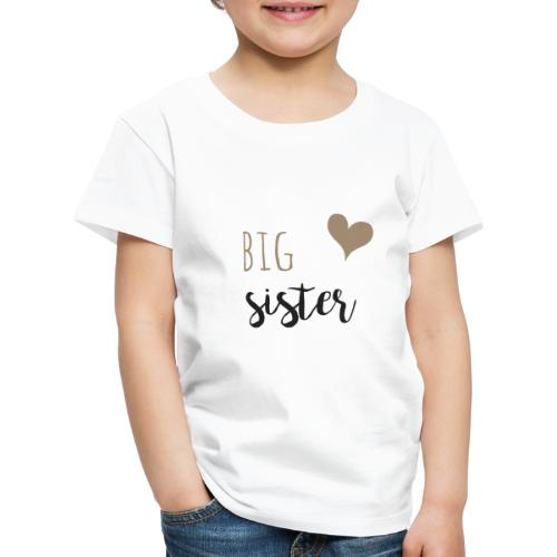 big sister Familyshirt - Kinder Premium T-Shirt
