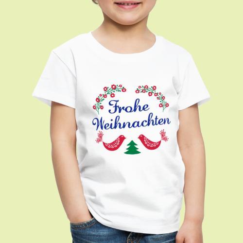 frohe Weihnachten 02-3c - Kinder Premium T-Shirt