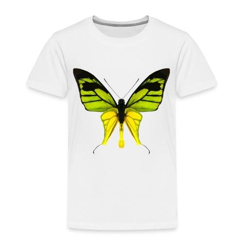 LowPoly Ornithoptera Paradisea - Premium-T-shirt barn