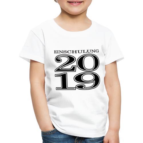 Einschulung 2019 - Kinder Premium T-Shirt