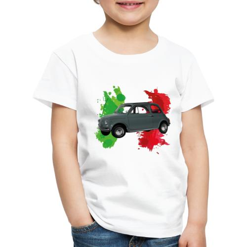 Italian style (500) grigia - Maglietta Premium per bambini