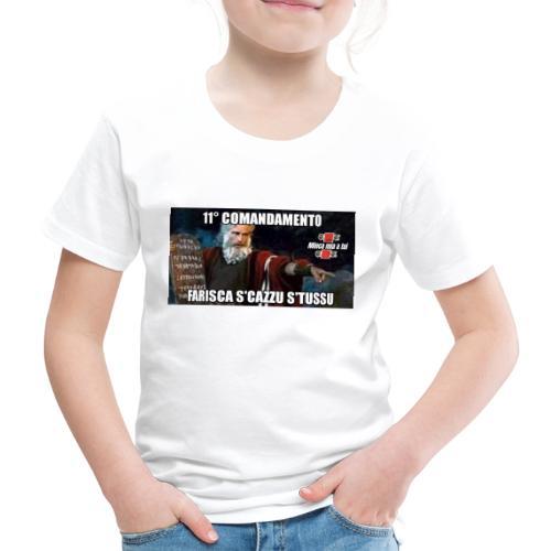 11° Comandamento - Maglietta Premium per bambini
