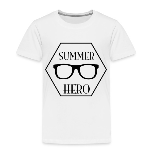 summer hero - Kinderen Premium T-shirt