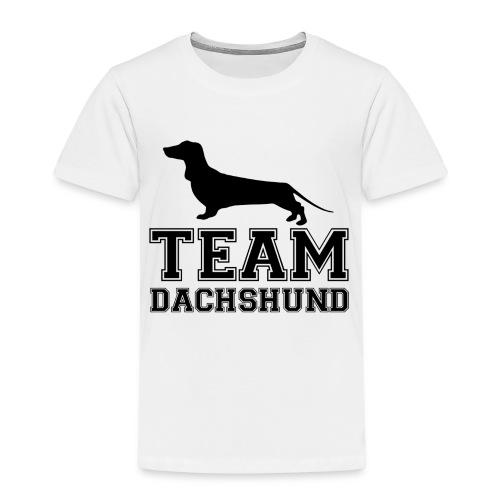 team-dachshund - Maglietta Premium per bambini