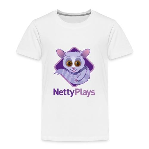Netty Logotype png - Kids' Premium T-Shirt