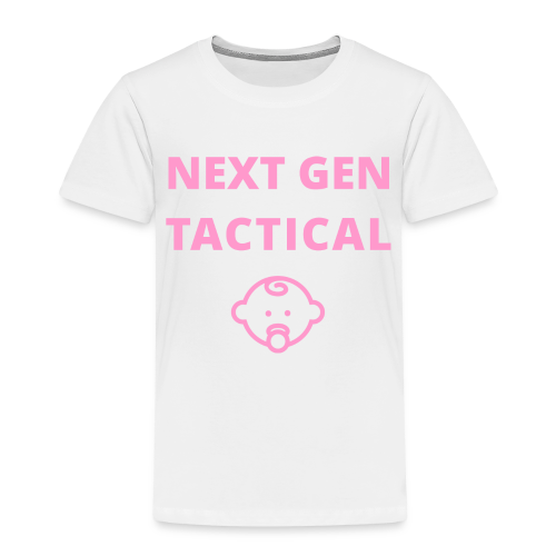 Tactical Baby Girl - Kinderen Premium T-shirt