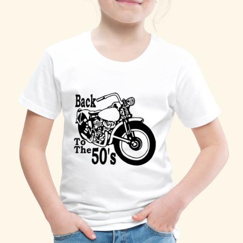 Back to the 50's - T-shirt Premium Enfant