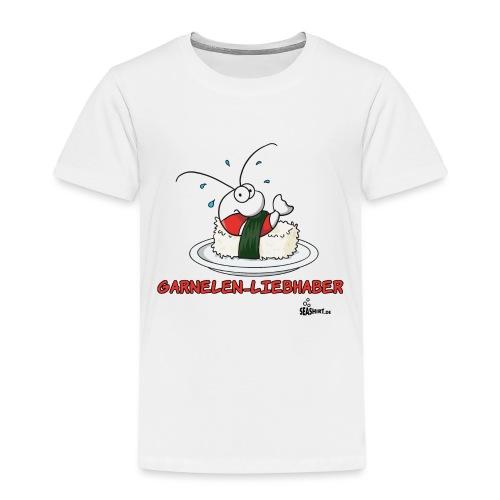garnelenliebhaber - Kinder Premium T-Shirt