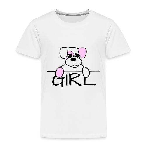 Hondje Girl - Kinderen Premium T-shirt