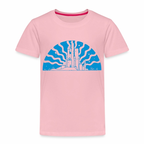 Fairytale Castle Sunrise - Kinder Premium T-Shirt