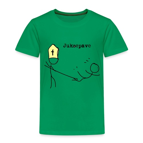 juksepave png - Premium T-skjorte for barn