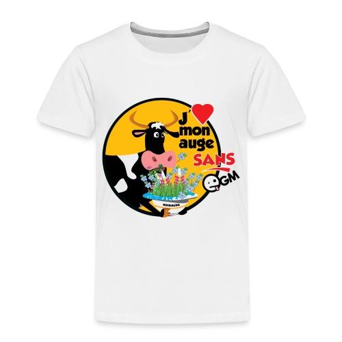 J'aime mon auge sans OGM - T-shirt Premium Enfant