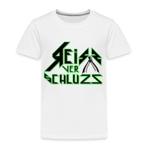 Reissverschluzz Logo - Kinder Premium T-Shirt
