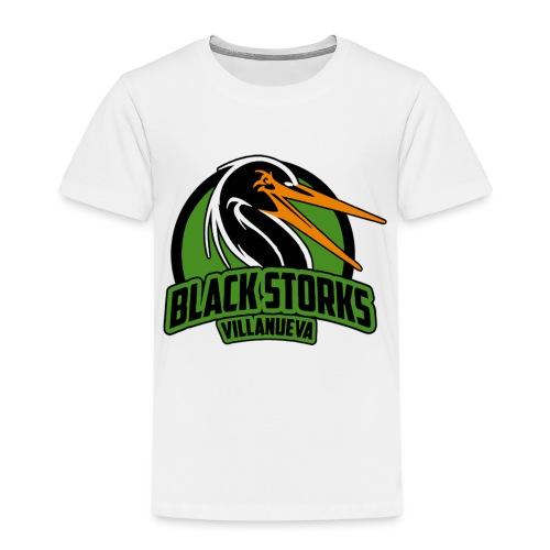 Camiseta Basica BlackStorks - Camiseta premium niño